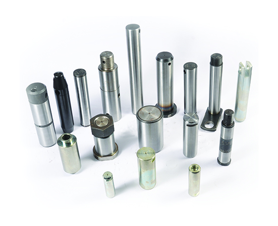 Harderned ground pins