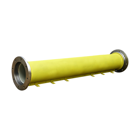 Sub Assembly- Pipe with flange assembly